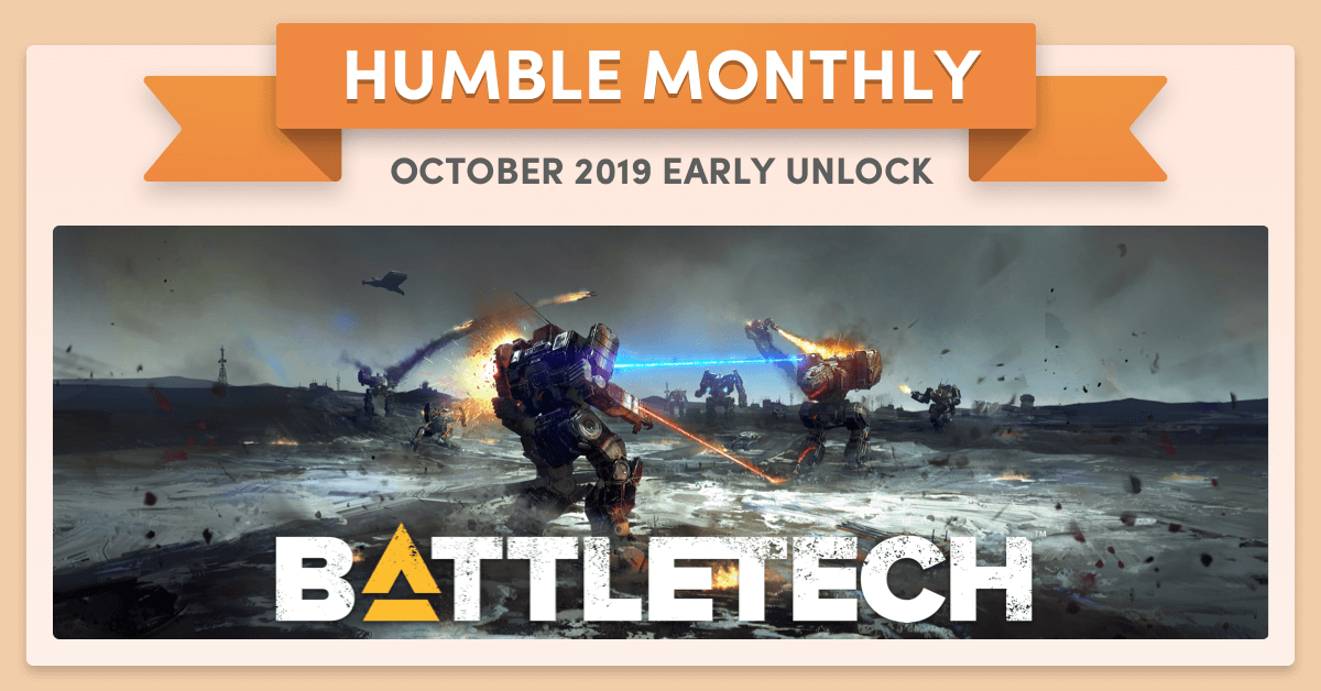 Humble Monthly Bundle Octubre 2019