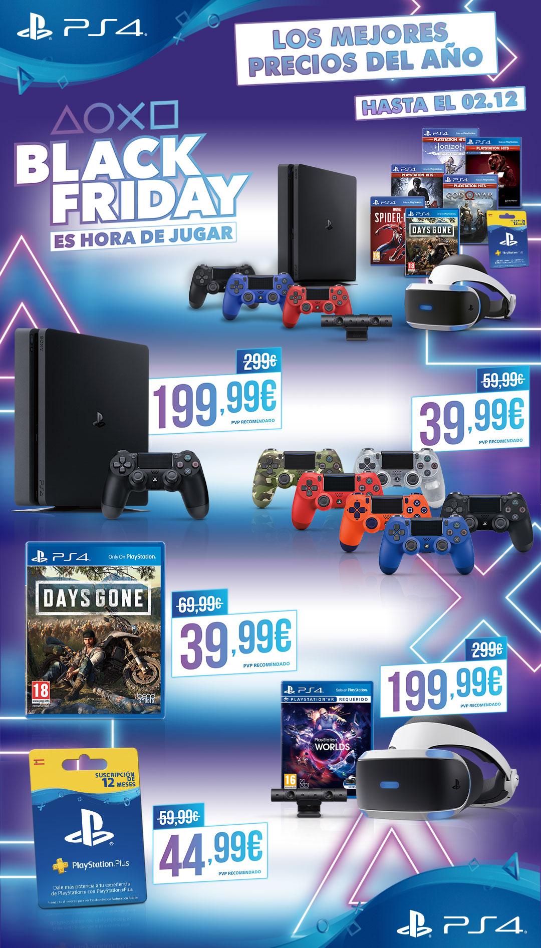 PlayStation 4 Black Friday 2019 3