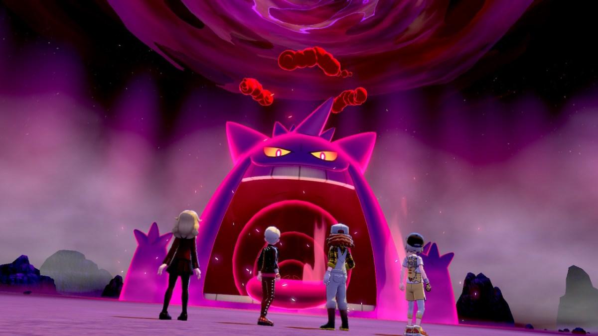 Gengar saldrá más en incursiones de Pokémon Espada y Escudo