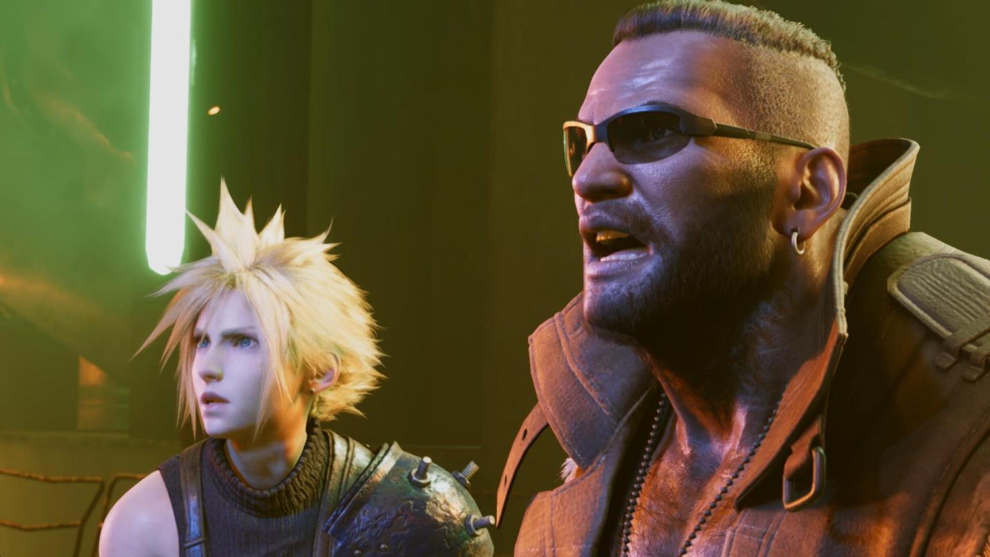 Final Fantasy VII Remake Screen