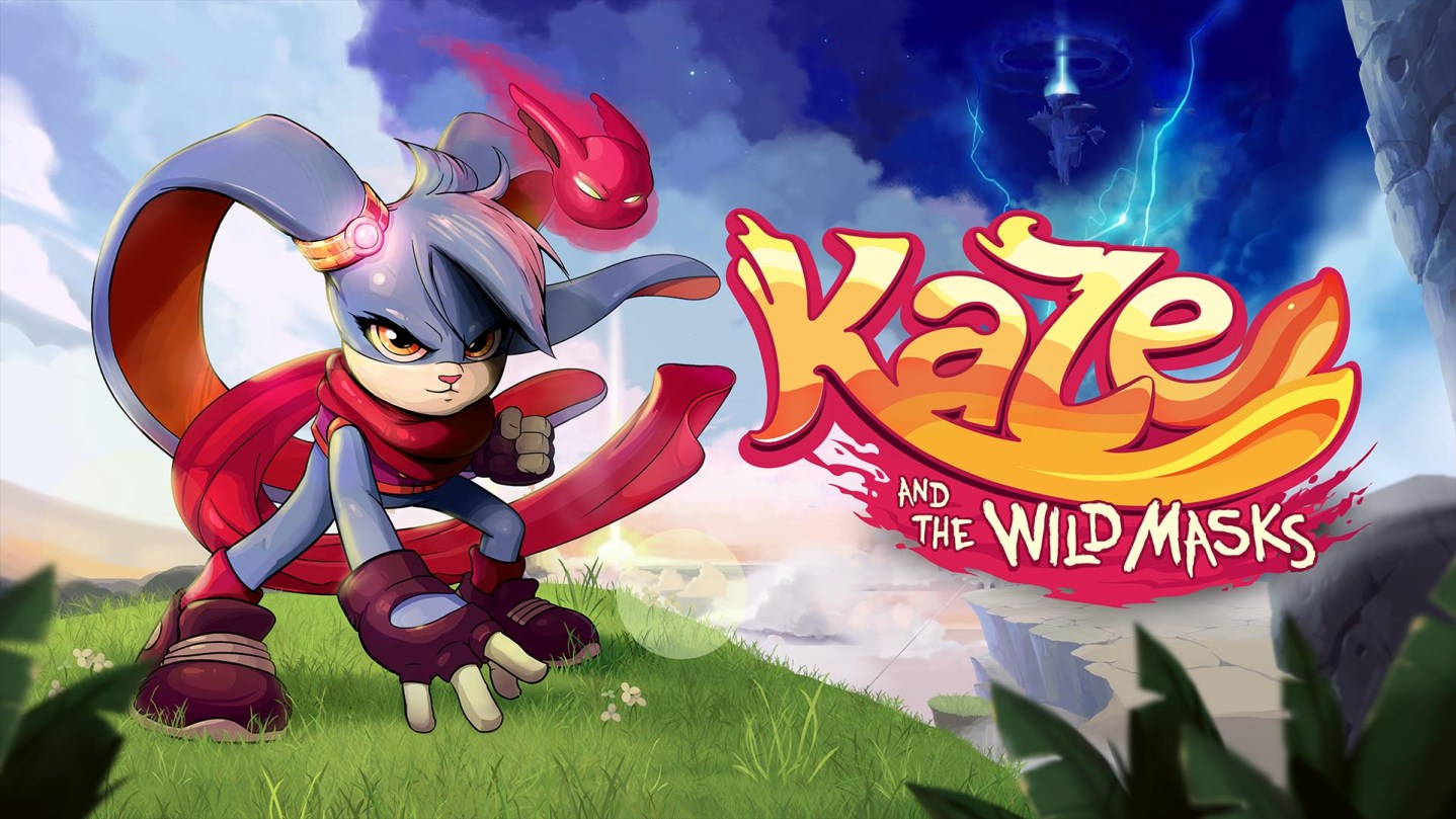 Kaze and the Wild Masks Art