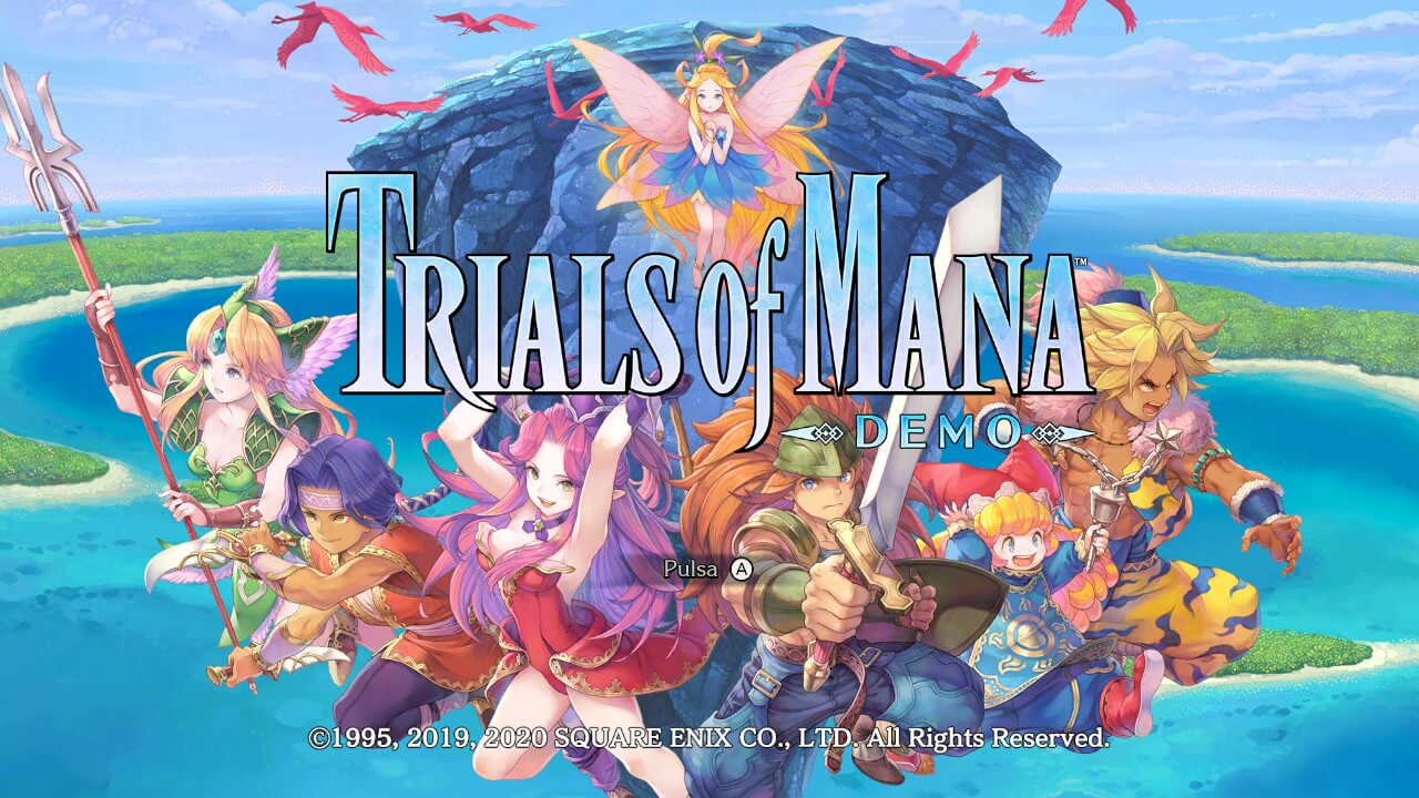 demo de Trials of Mana