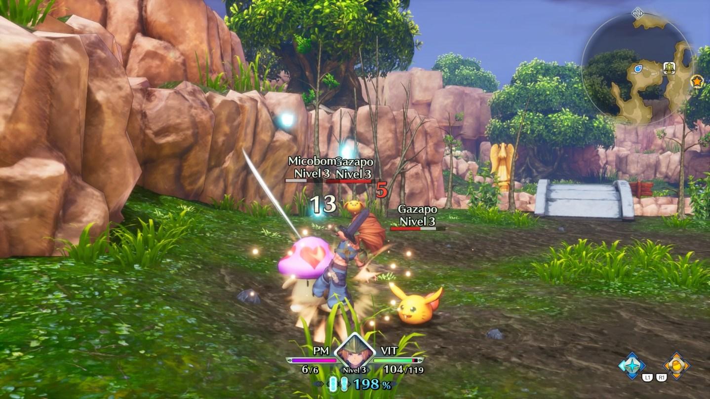 Impresiones de la demo de Trials of Mana