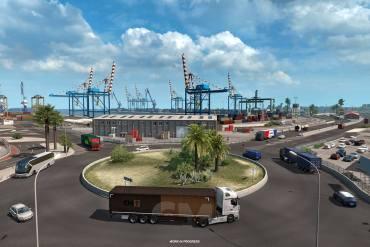 puertos de Iberia truck simulator