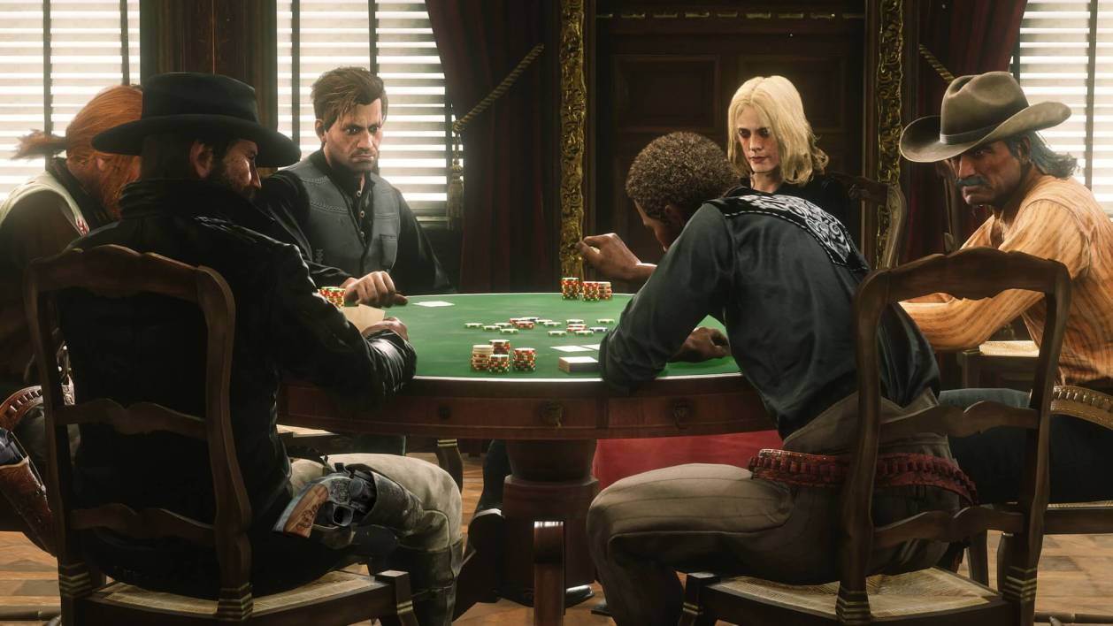 póker en los videojuegos