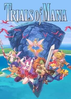 Carátula Trials of Mana