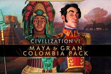 Civilization VI New Frontier Mayas y Gran Colombia