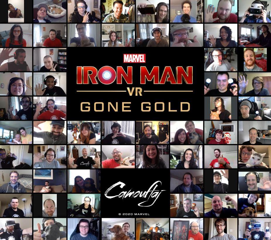 Iron Man VR Gold