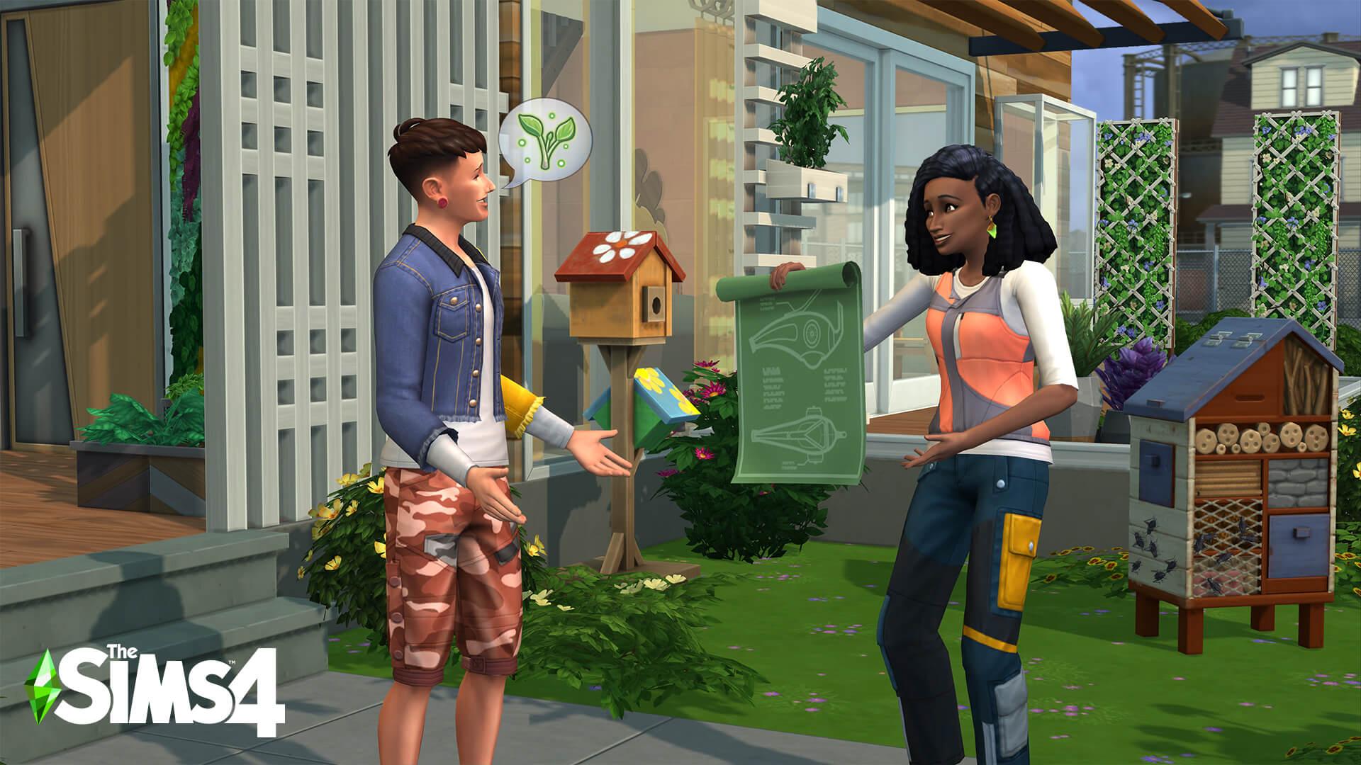 Los Sims 4 Vida Ecológica Anuncio 4