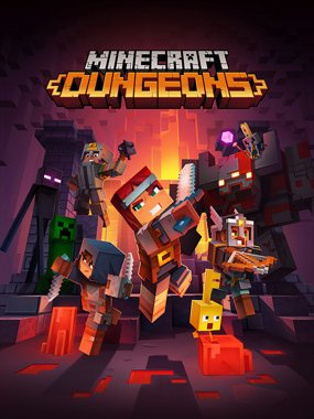 Minecraft Dungeons Análisis Cover