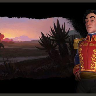 Simón Bolívar Civilization VI: New Frontier