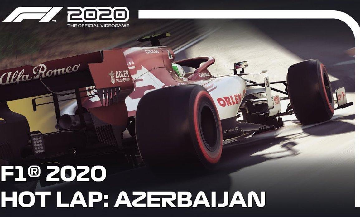 F1 2020 Circuito urbano Bakú