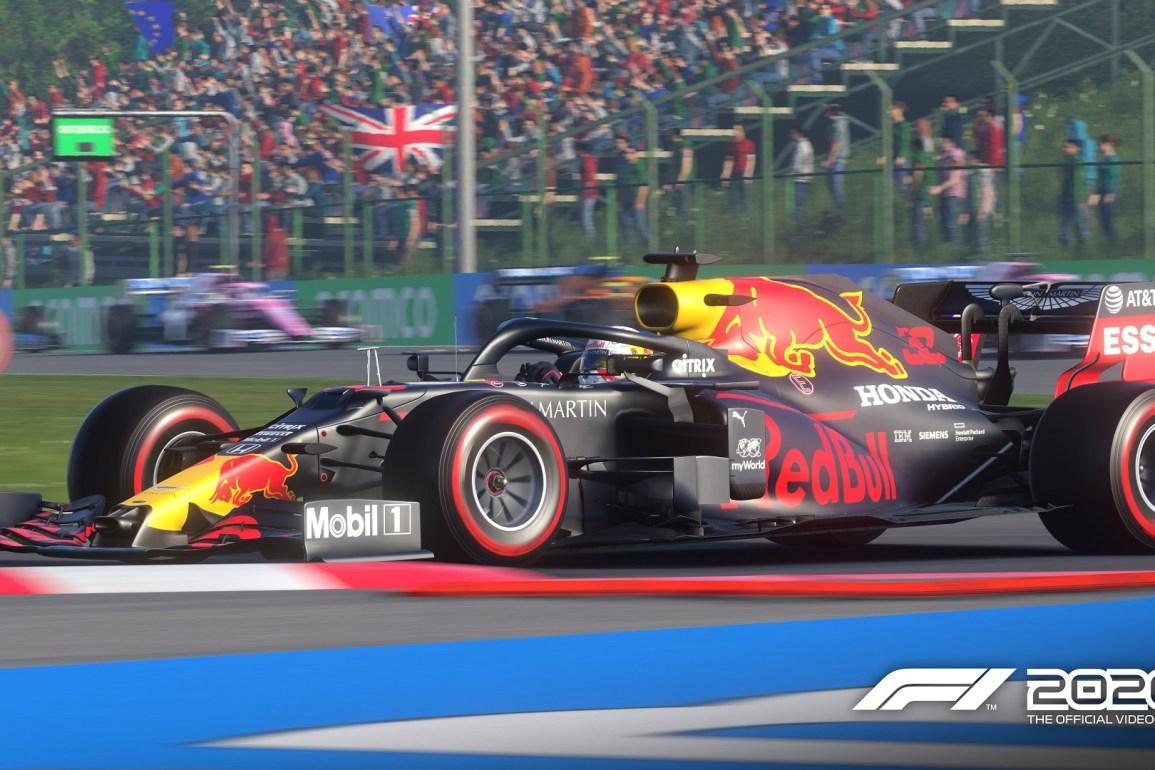 anuncio televisión F1 2020