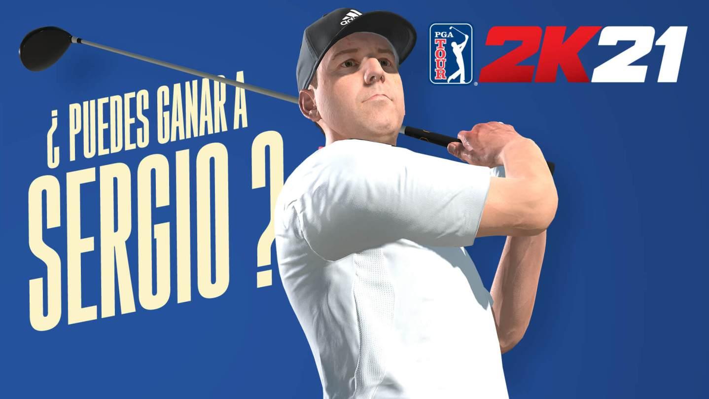 PGA 2K21 Sergio