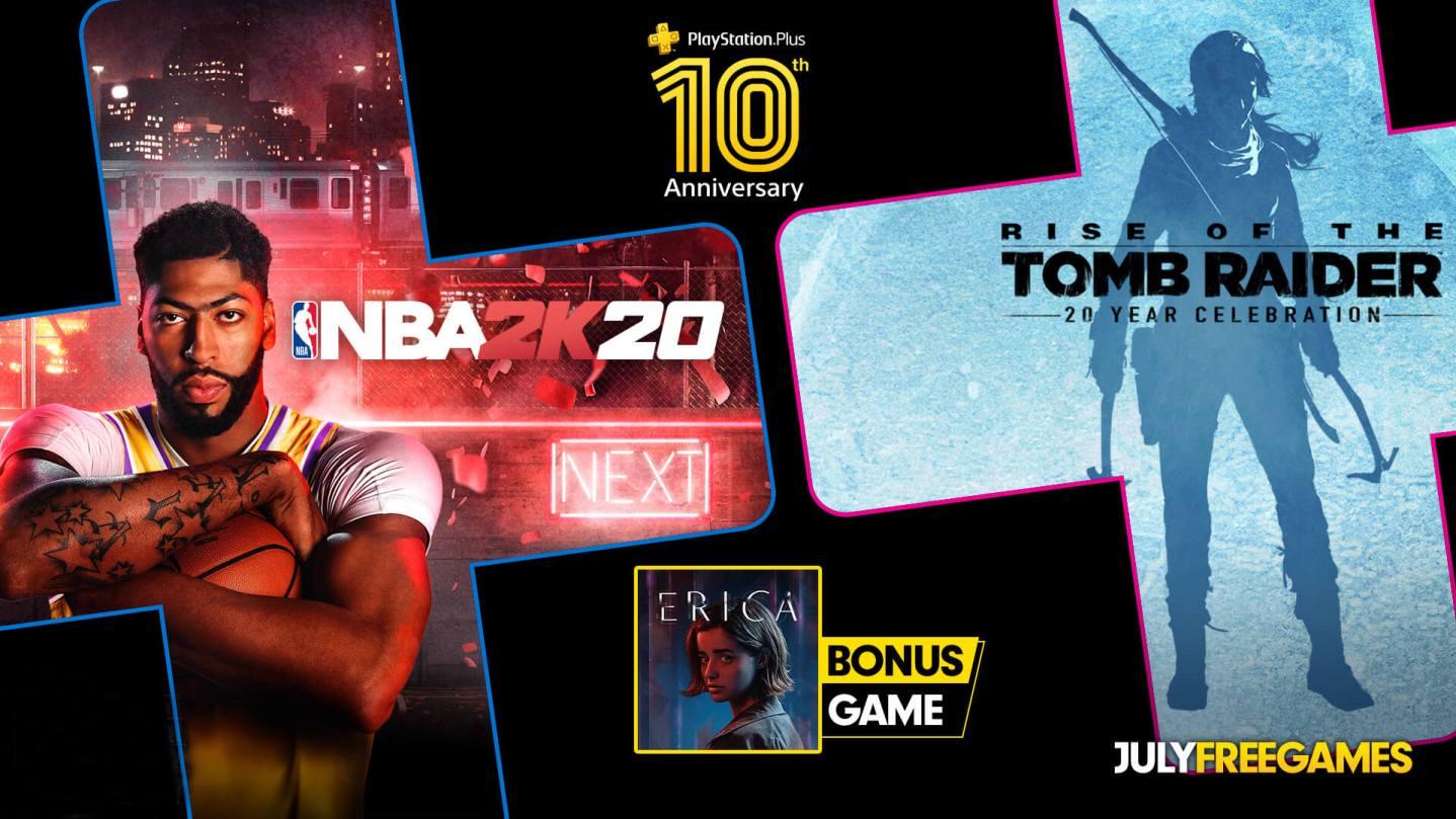 PlayStation Plus de julio 2020