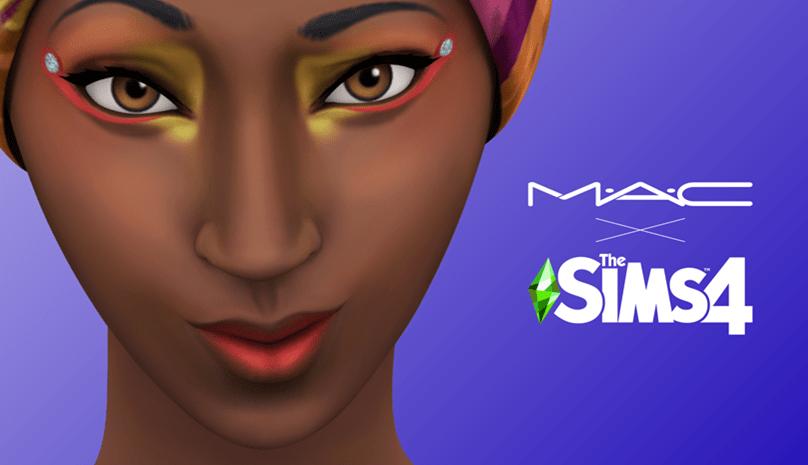 M·A·C Cosmetics y Los Sims 4