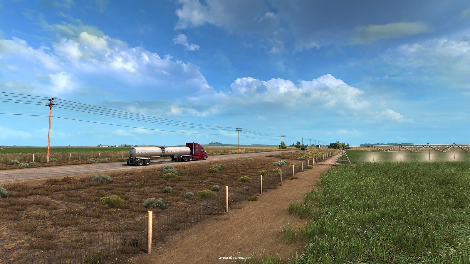 American Truck Simulator Colorado Llanuras 3