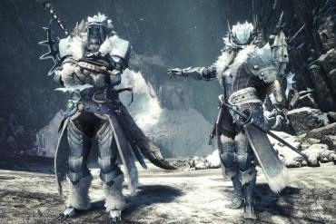 Monster Hunter World Iceborne F Barioth Armor α MaleFemale