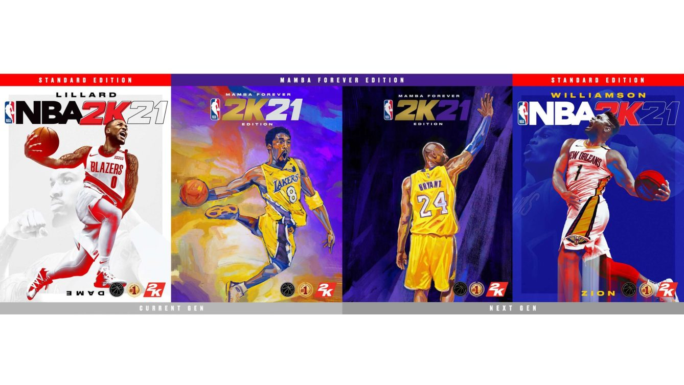 NBA 2K21 Cover Athletes scaled