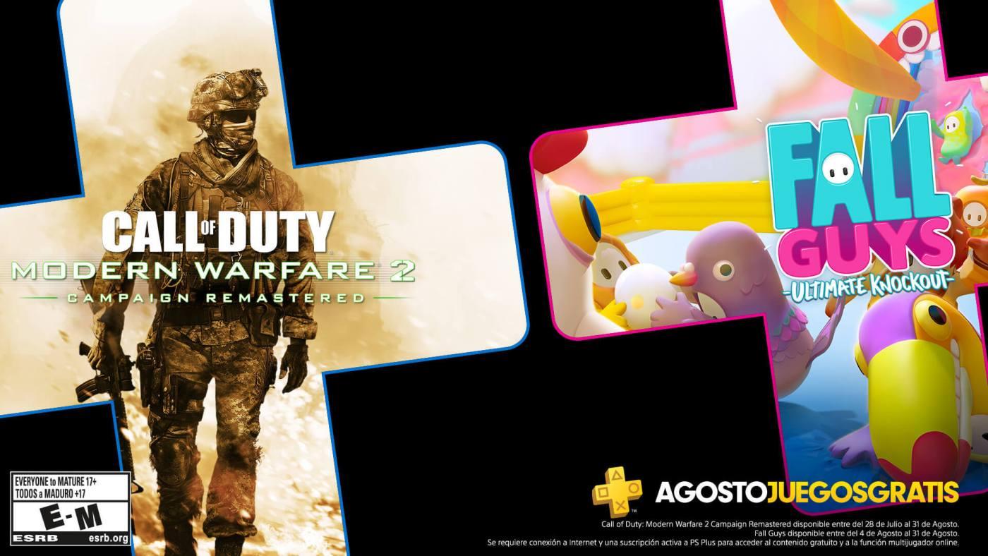 PlayStation Plus de agosto 2020