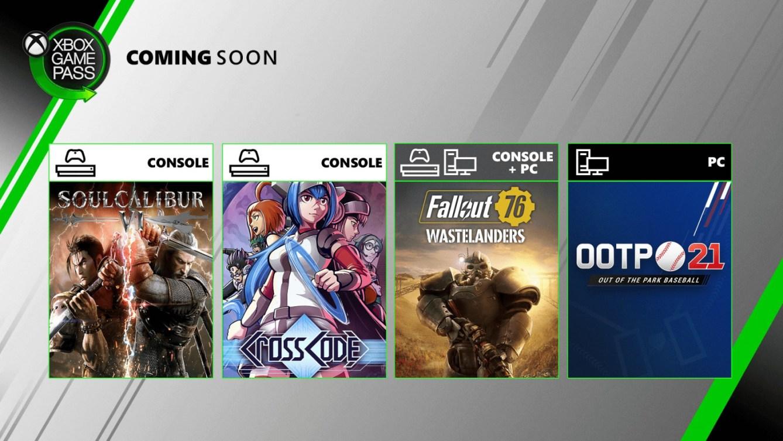 Xbox Game Pass en julio de 2020