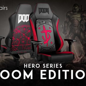 noblechairs HERO Gaming Chair - DOOM Edition