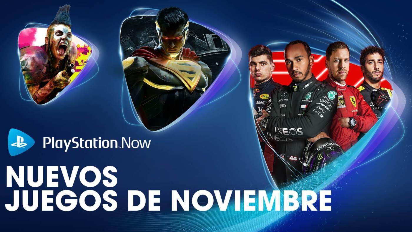 PlayStation Now noviembre 2020