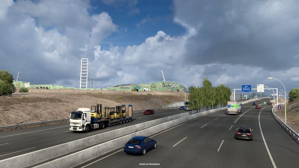 Madrid con Euro Truck Simulator 2