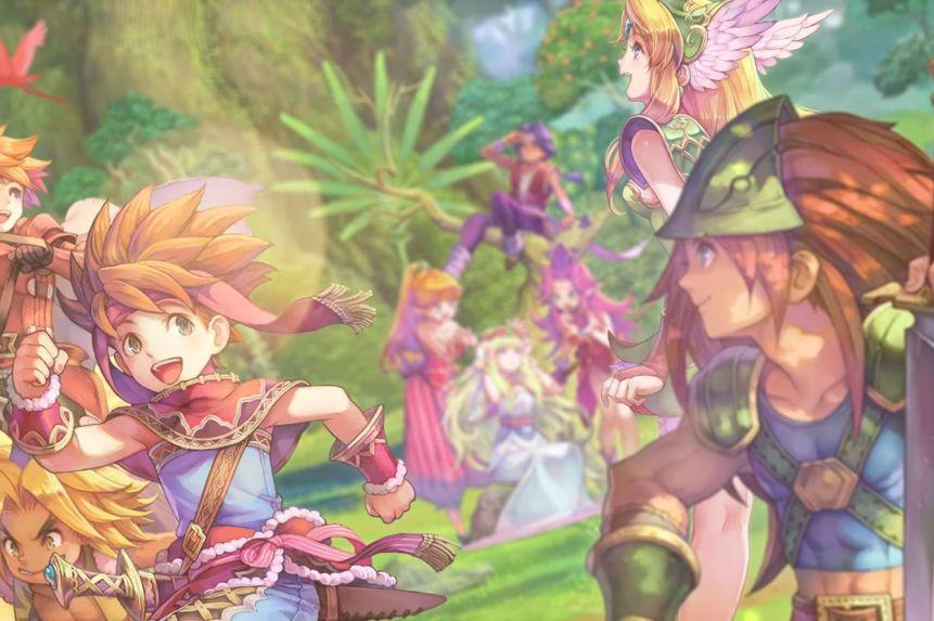 Legend of Mana Art