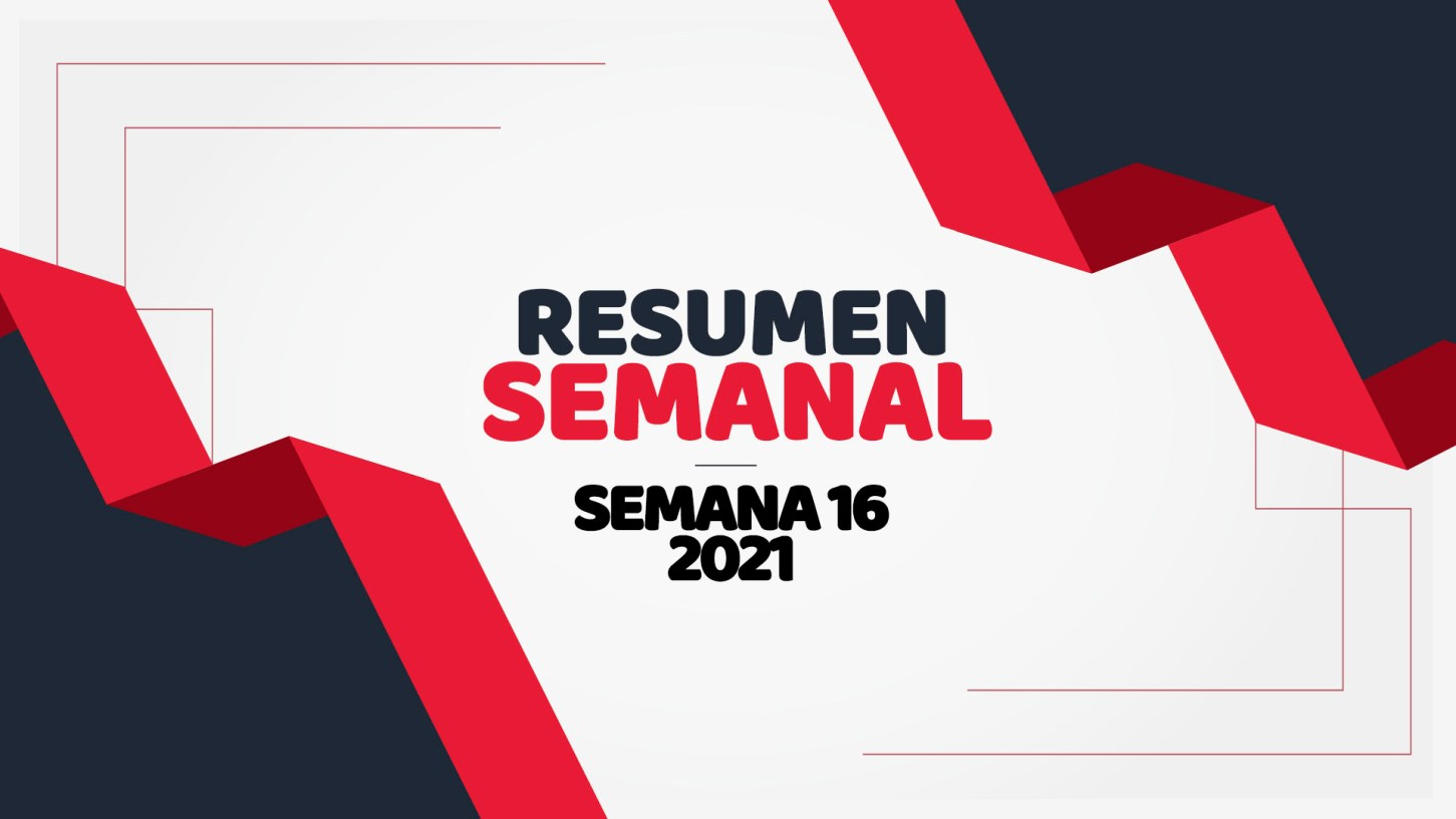 semana 16 de 2021