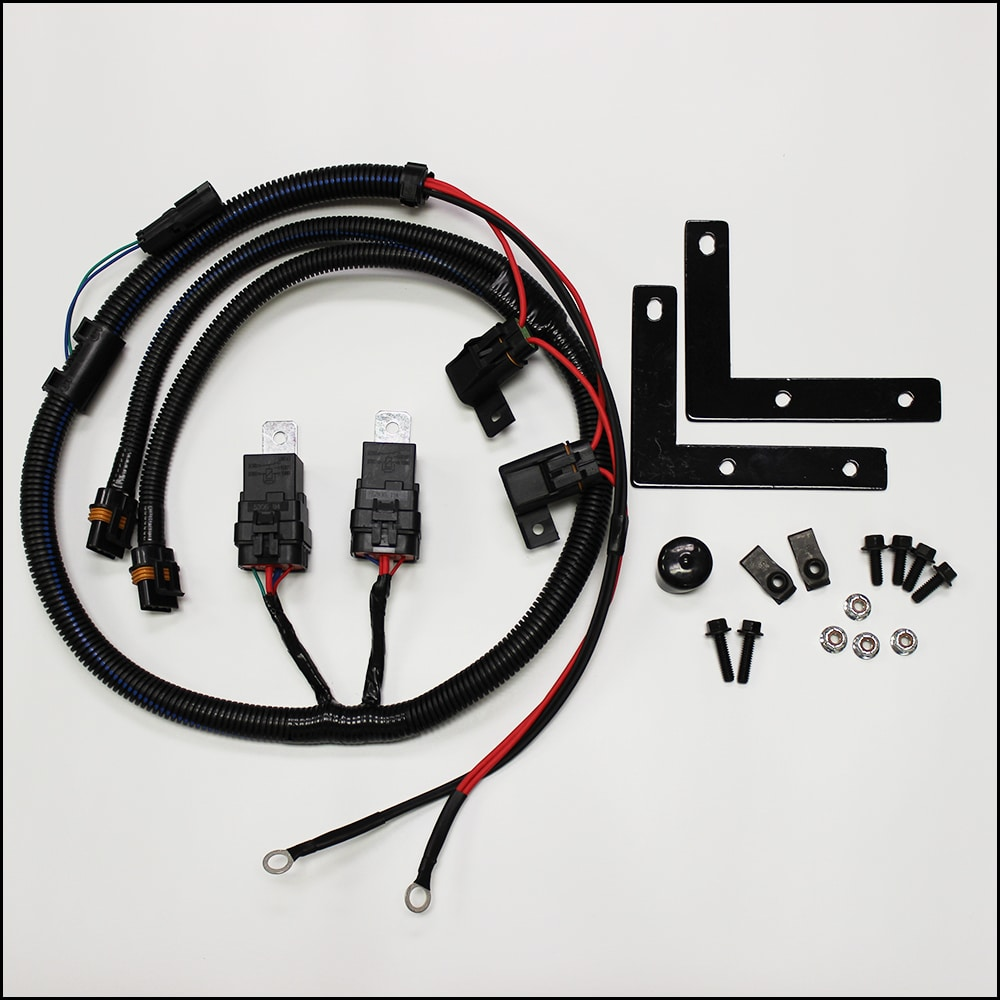 hight resolution of 2006 gmc envoy cooling fan wiring diagram i6 trailblazer diy ls1 dual fan conversion kit u2013 pcm of nc inccooling system