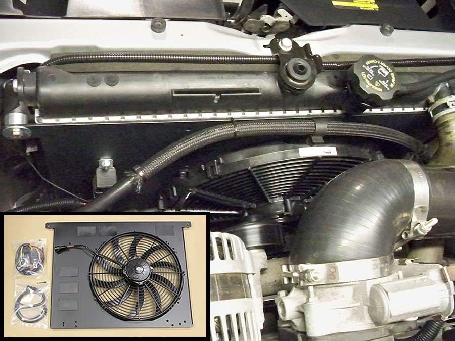 2005 Trailblazer Fan Clutch Wiring Harness Hummer H3 Diy Electric Fan Kit Pcm Of Nc Inc
