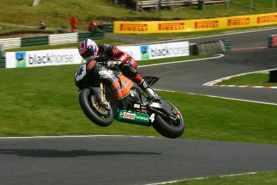 Josh Brookes en el circuito de Cadwell Park