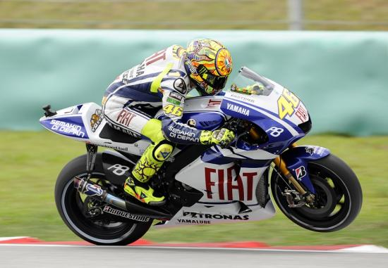 Valentino Rossi Gran Premio de Malasia