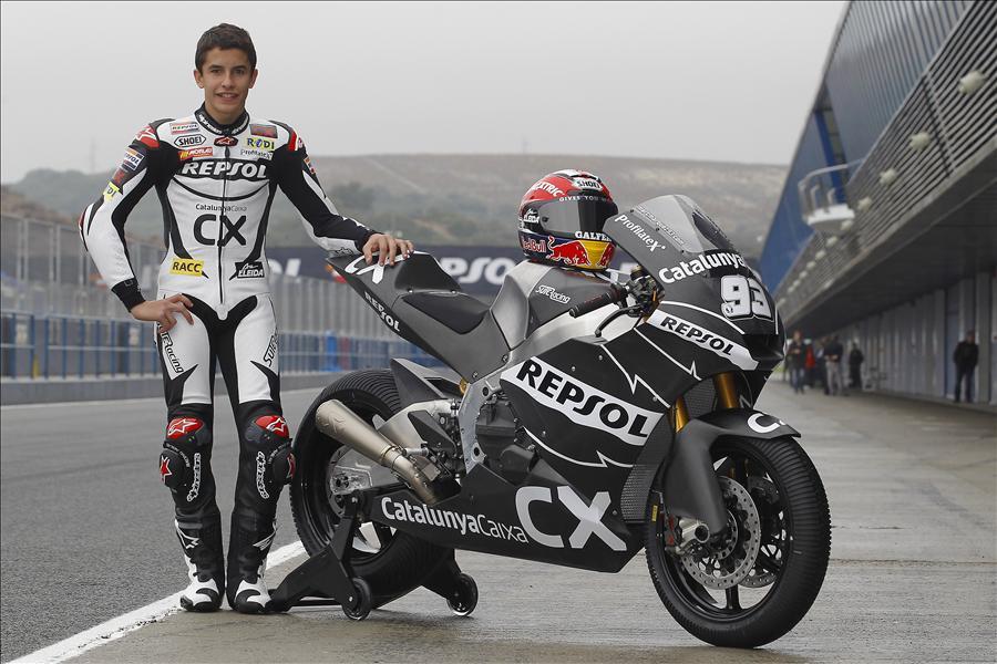 Marc Marquez Moto 2 Jerez
