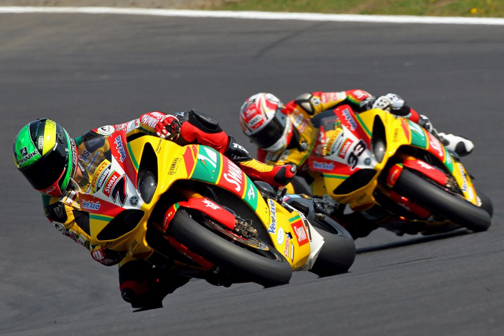 Michael Laverty y Tommy Hill