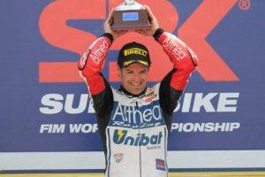 Checa - podium
