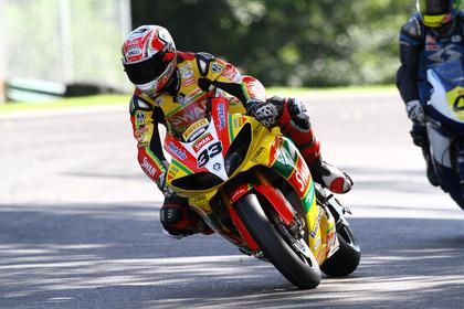 Tommy Hill, Swan Yamaha, BSB Cadwell Park, Aug 2011