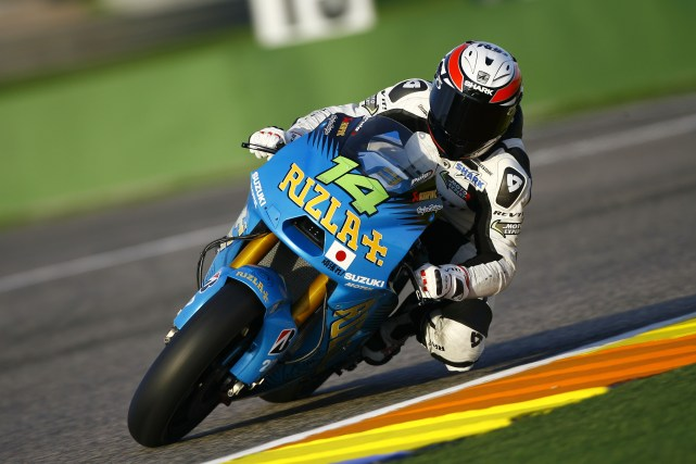 De Puniet, Valencia MotoGP tests, November 2011