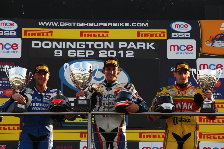 BSB Podium Donington