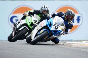 Charlett 13 leads Cole TT