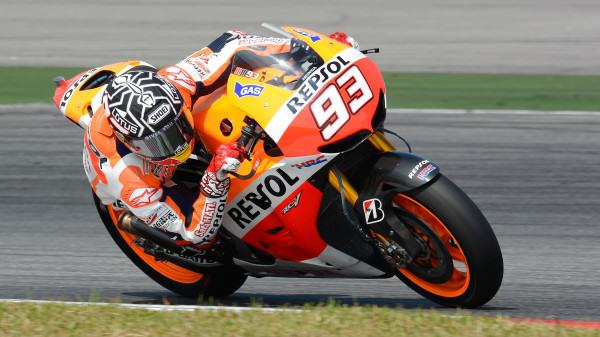 Marc Márquez terminó en primera posición
