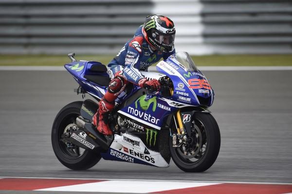 Jorge Lorenzo, mejor tiempo en la FP2 de MotoGp