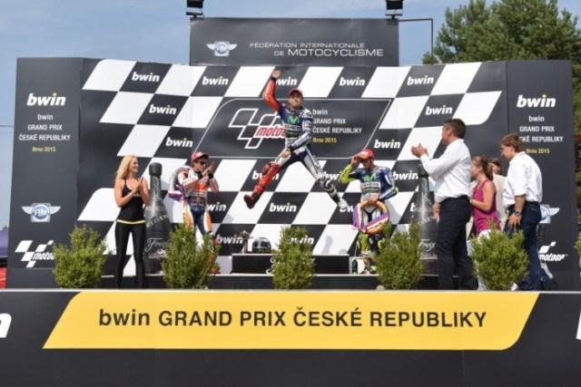 Brno-podium