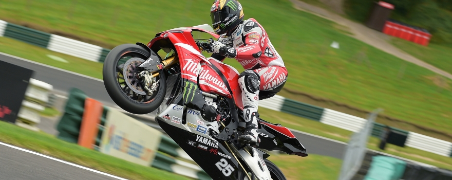#25 Josh Brookes Milwaukee Yamaha MCE British Superbikes