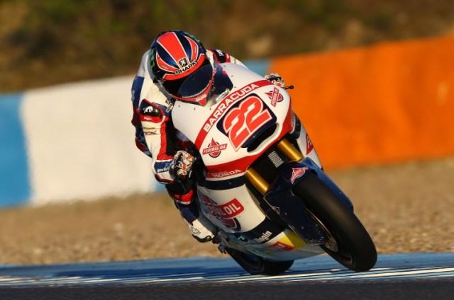 Sam Lowes, Jerez Moto2/3 test. November 2015