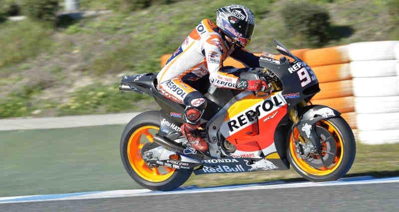 Marc Márquez Test MotoGp Jerez