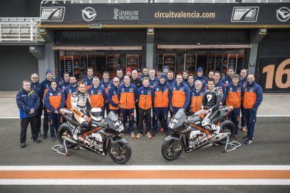 KTM MotoGP Factory Racing Team Valencia 2016