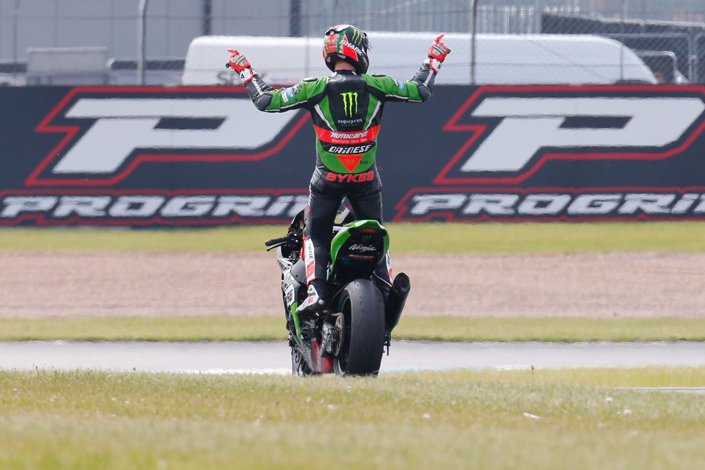 Tom Sykes en Donington Park