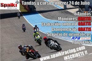 Cartel Spaiki Racing Jerez